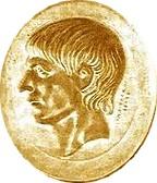 Scipione in un sigillo d'oro trovato a Capua