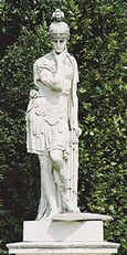 Statua di Fabio a Schoenbrunn